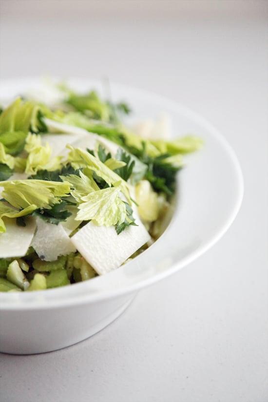 Celery and Parmesan Salad