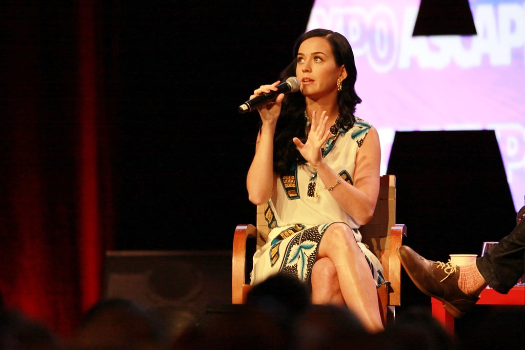 Katy Perry spoke about her upcoming album.
