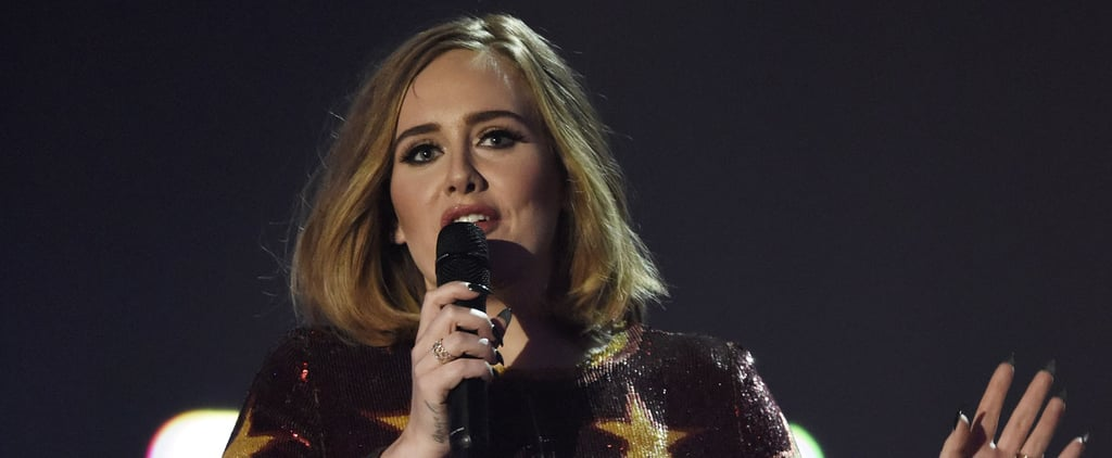 This Moment Between Adele and Her Boyfriend at the Brit Awards Will Make You Ugly-Cry