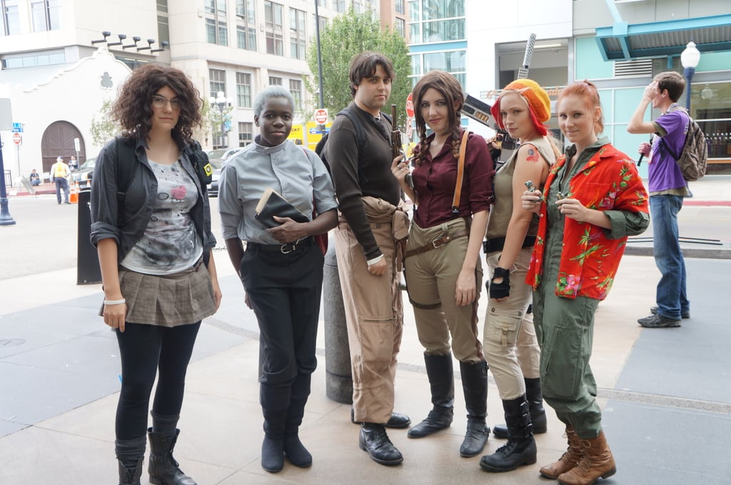 The Firefly cast reunited at Comic-Con!