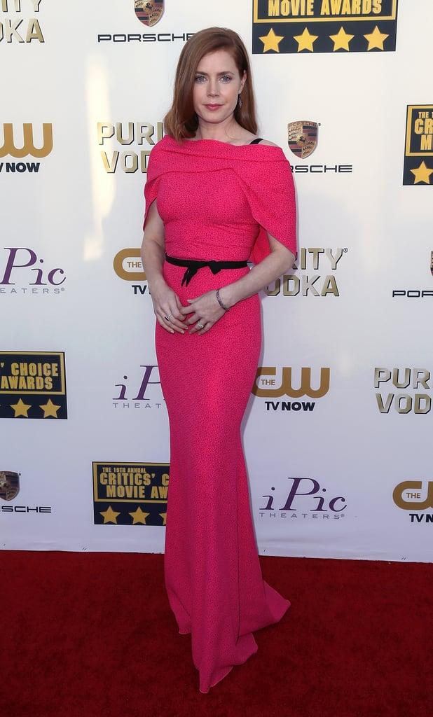 Amy Adams at the Critics' Choice Awards
