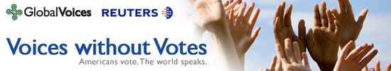 Where I'm Clicking Now: VoicesWithoutVotes.org