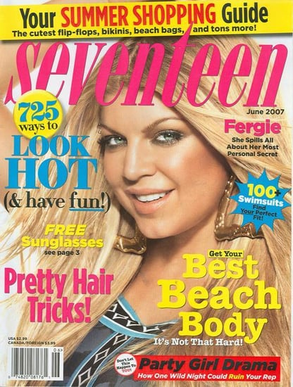 Is that Fergie on Seventeen?