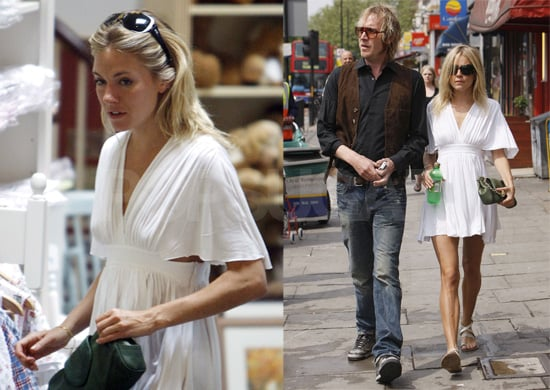 Sienna Miller and Rhys Ifans Go for Lunch in London