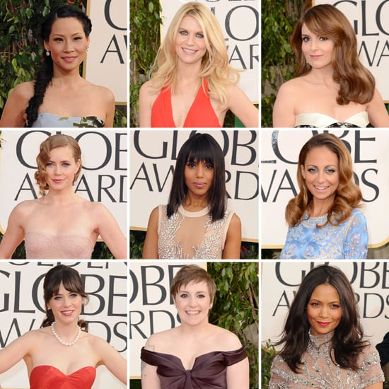 Golden Globes Red Carpet Pictures 2013