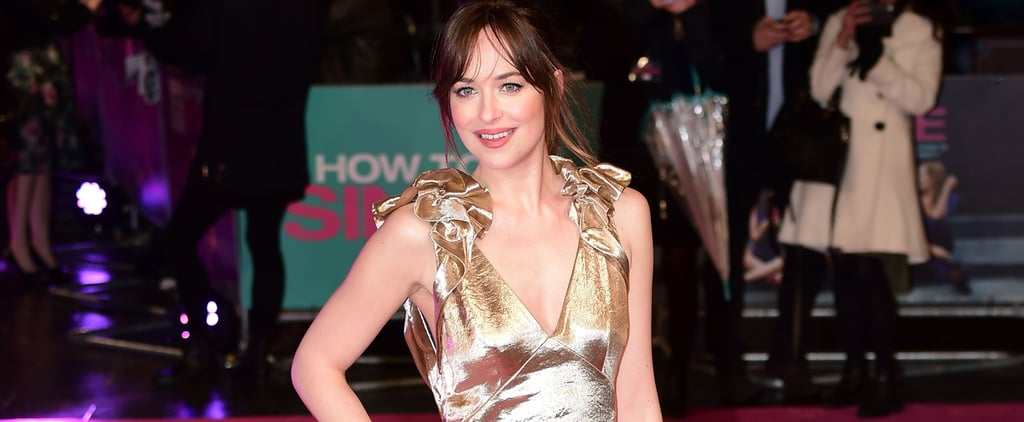 Gold Is Dakota Johnson's Colour —as Proven by This Gown