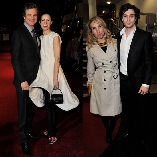 Pictures of London Film Critics' Circle 2011 Including Colin Firth and Wife Livia Giuggioli, Aaron Johnson and Sam Taylor-Wood