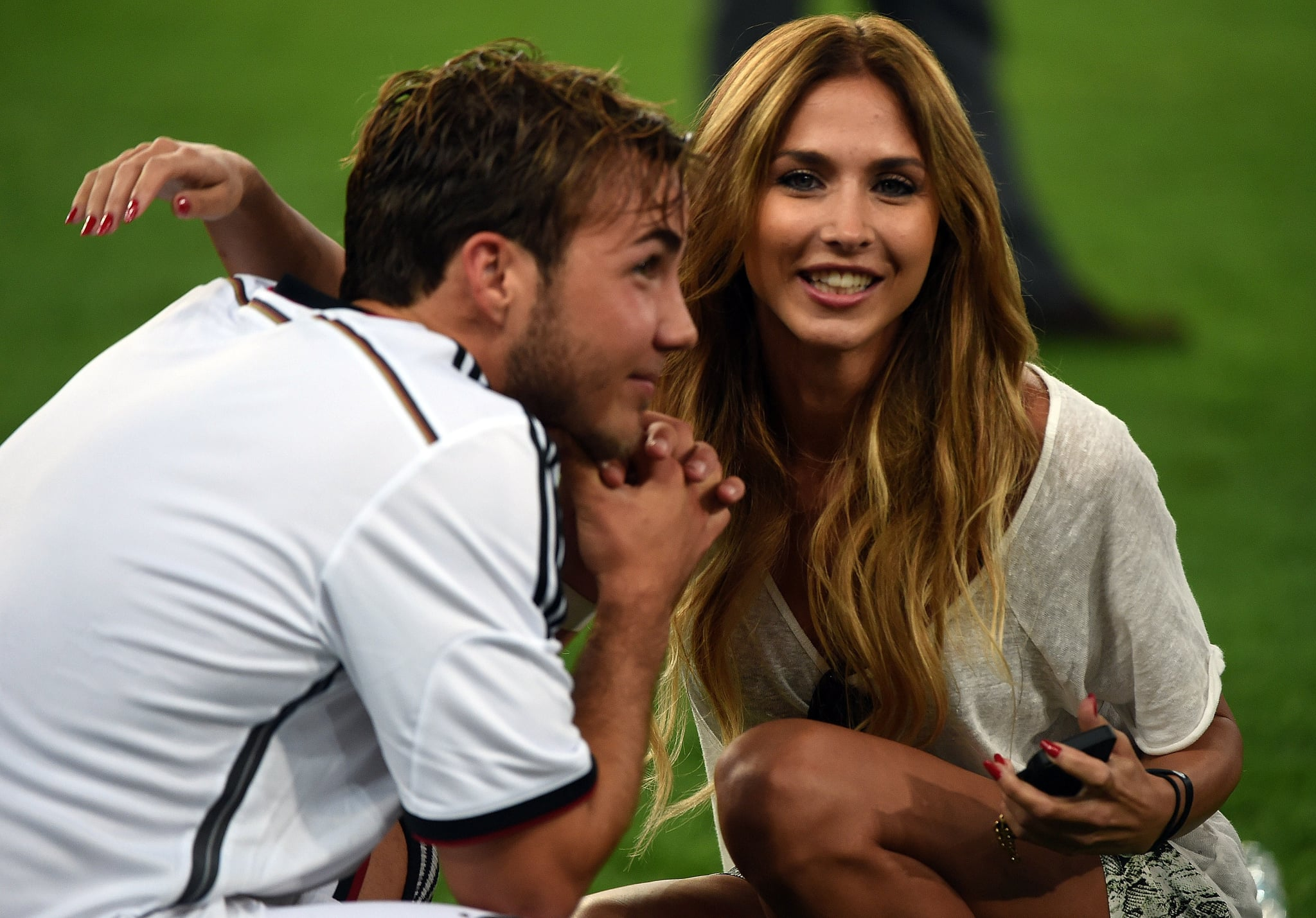 Mario Götze and His Girlfriend Are Having the Best Week Ever
