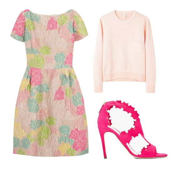 Floral Prints and Pink Color Trend For Spring 2013