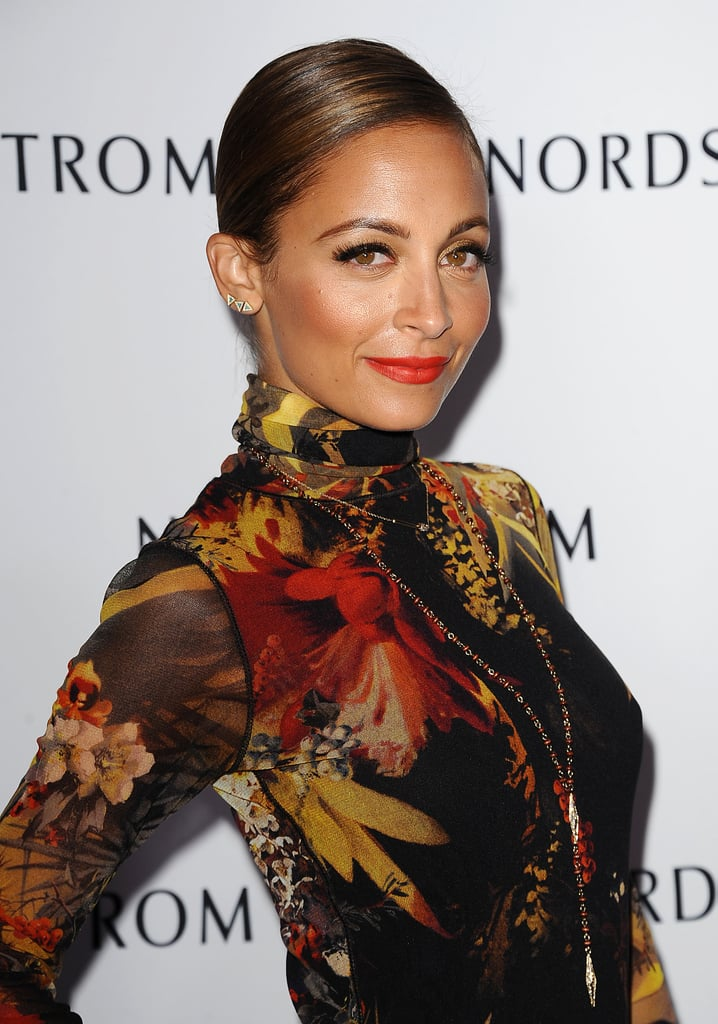 Nicole looked gorgeous with a slicked-down style and bright orange lipstick at a recent event. The hue was reminiscent of the colors on the runways at New York Fashion Week.