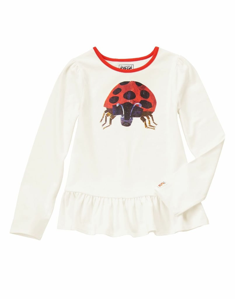 There's nothing grouchy about this adorable ladybug top ($22).