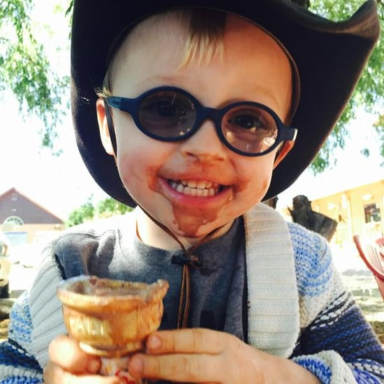 Anna Faris Tweets a Photo of Jack Eating Ice Cream