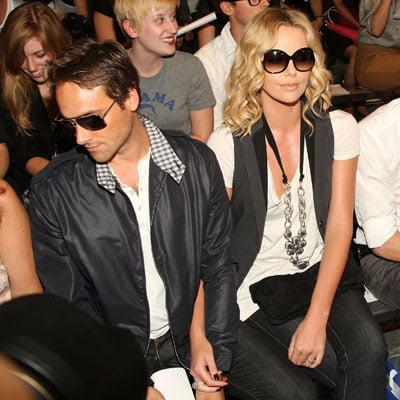 Stuart Townsend and Charlize Theron at Rag & Bone