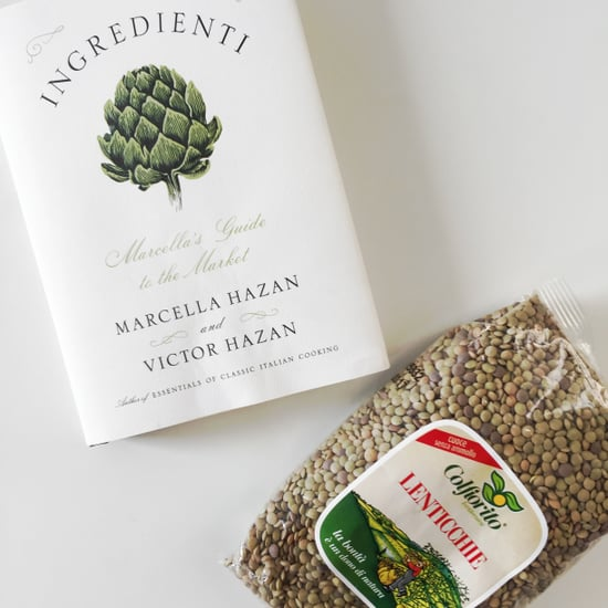 Lentils in Marcella Hazan's Ingredienti Cookbook