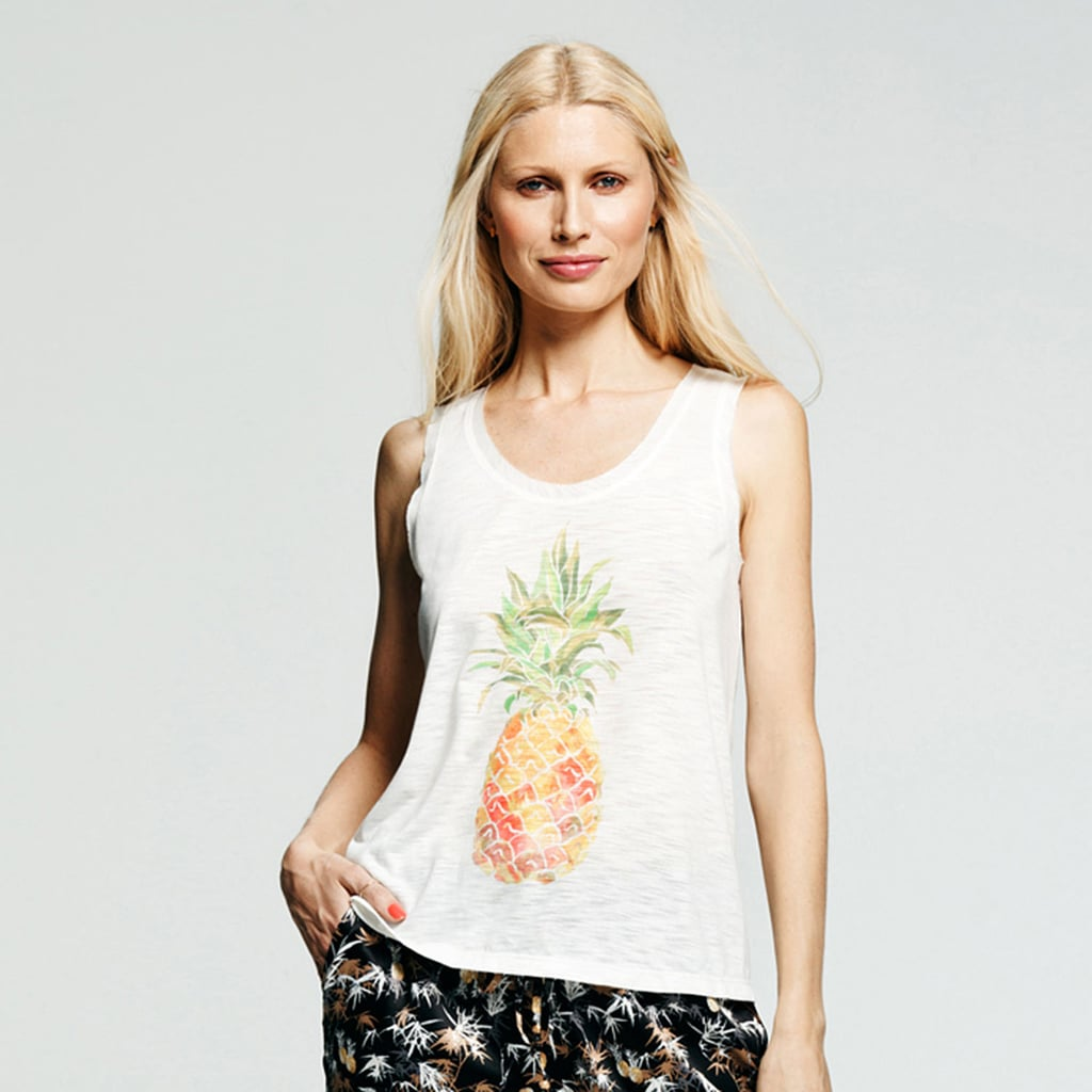 Peter Som For Kohl's Pineapple Tank