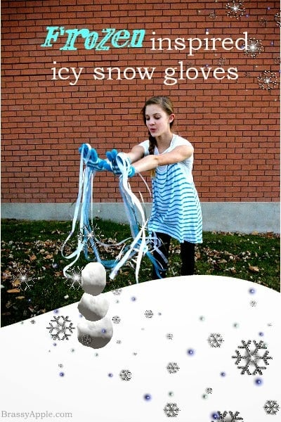 Icy Snow Gloves