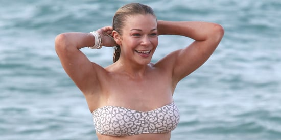 LeAnn Rimes Frolics In A Bikini In Hawaii