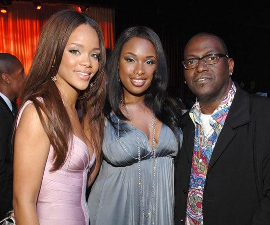 Rihanna, Jennifer Hudson and Randy Jackson were together in 2007.