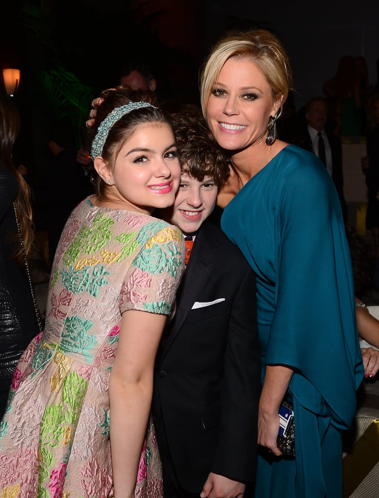 Modern Family's Ariel Winter, Nolan Gould, and Julie Bowen posed together at Fox's afterparty.