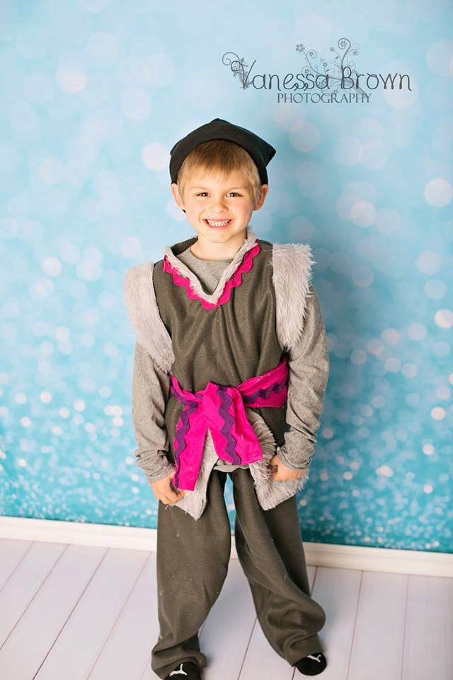 The most affordable option for your little Frozen fan's Kristoff getup is this handmade costume ($40).