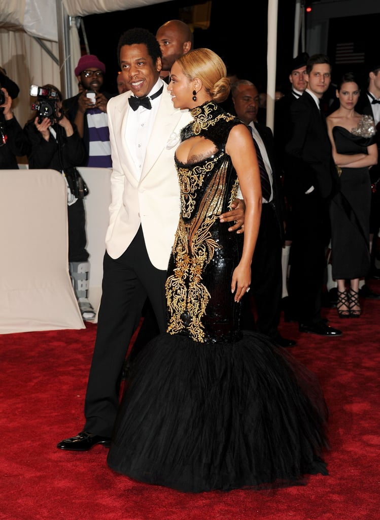 Jay-Z and Beyoncé walked the red carpet together at the Met Gala in May 2011.