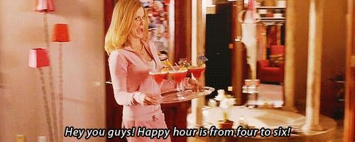 Happy Hour Starts at 4, Not 5
