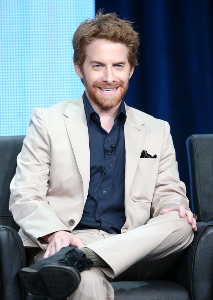 Seth Green took the stage for the Dads discussion panel at the Summer TCA Press Tour.