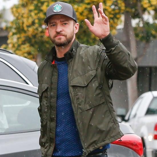Justin Timberlake Out in LA April 2016