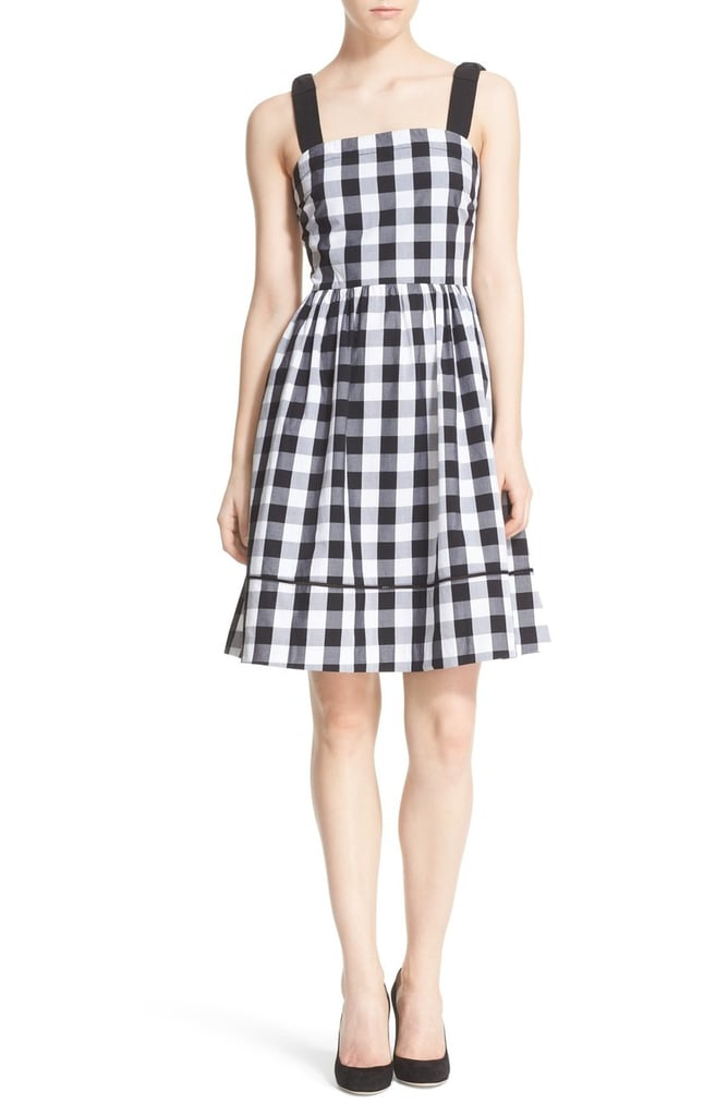 Kate Spade New York gingham fit & flare dress ($298)