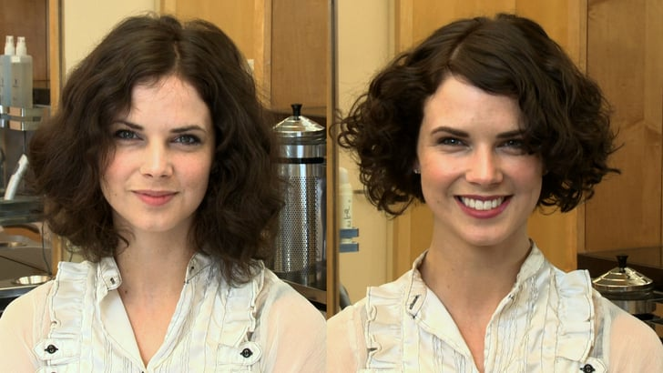 A Great Hairstyle For An Oval Or Round Face Shape With