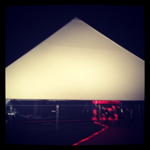 Kanye West built himself a pyramid to house his art installation, the short film Cruel Summer.