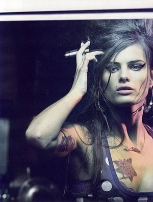 Fab Flash: Amy Winehouse To Be a Cavalli Girl