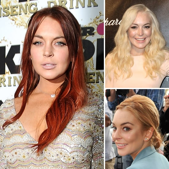 Colour Chameleon: A Year In The Life Of Lindsay Lohan's Hair