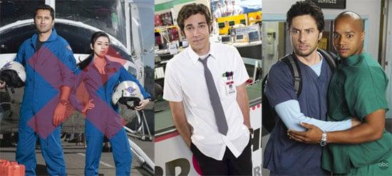 NBC's Trauma Canceled, Chuck Gets More Episodes, Scrubs to Air December 1