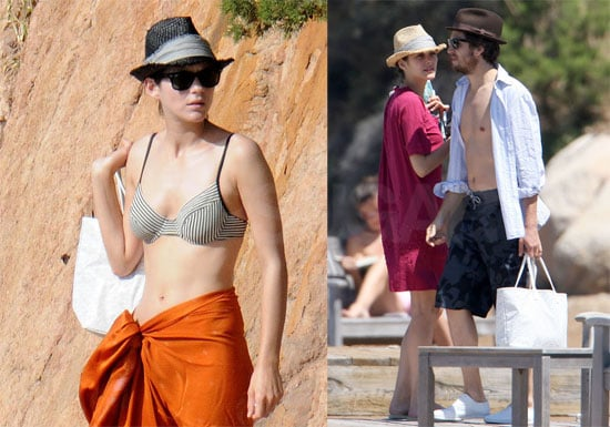Bikini Photos of Marion Cotillard and Guillaume Canet in St. Tropez