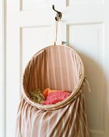 Cool Idea: Ever-Open Laundry Bag