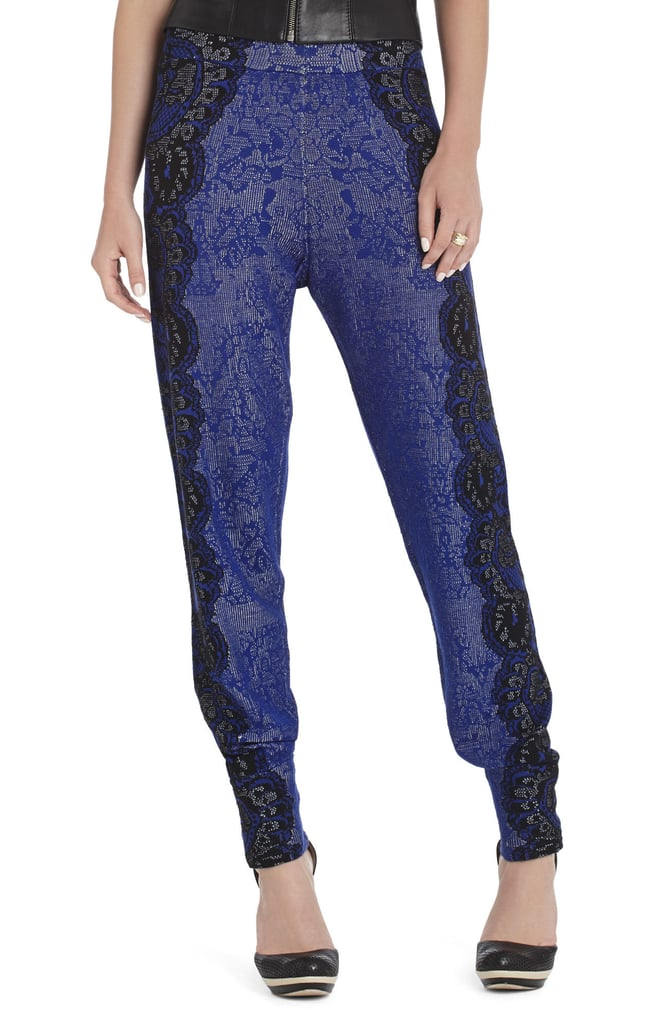 It was love at first sight with these BCBG Max Azria jacquard sweatpants ($198). The slouchy style juxtaposed with delicate lace makes for the perfect cool-weather staple.  — MV