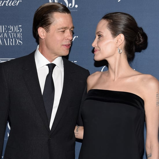 Brad Pitt and Angelina Jolie at WSJ Innovator Awards 2015