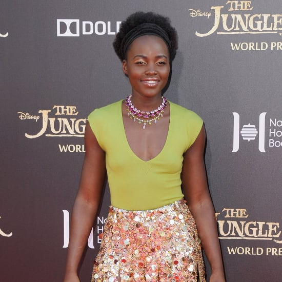 Lupita Nyong'o Wearing J.Crew at The Jungle Book Premiere