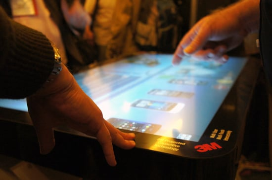3M Giant Touch Screen Display From CES 2012