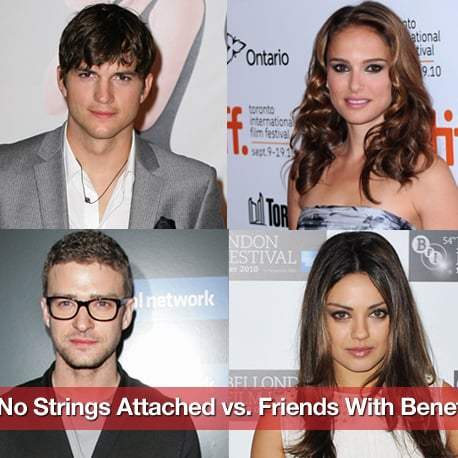 Friends With Benefits Movie Vs. No Strings Attached Movie Differences