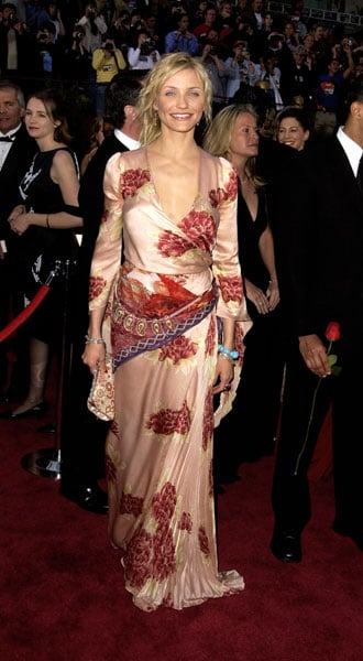 Cameron Diaz at the 2002 Academy Awards