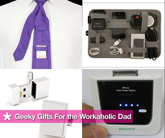 Geeky Gifts For the Workaholic Dad