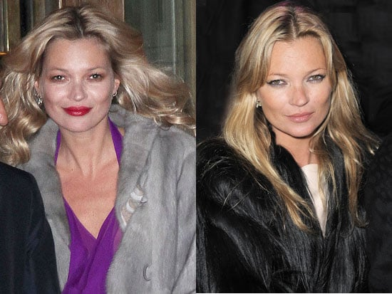 Which Parisian Makeup Style Do Like Most on Kate Moss?