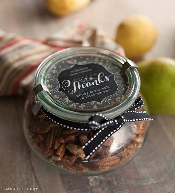 Fall Gift Labels by Lia Griffith