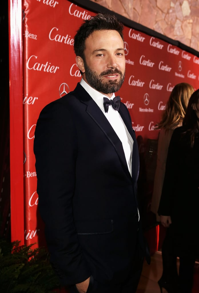 Ben Affleck made his way to the gala.