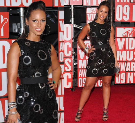 Photo of Alicia Keys at 2009 MTV Video Music Awards