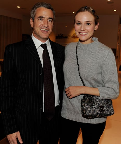Diane Kruger Hints At Possible Design Collaboration With Karl Largerfeld.