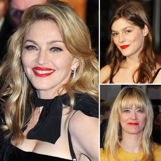 Madonna's Style at the UK Premiere of W.E.