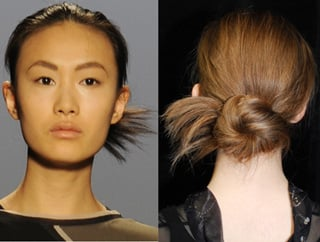 BCBG Fashion Week Hair Messy Bun Tutorial 2010-02-12 08:00:00